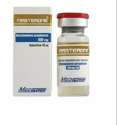 100mg Masteron Drostanolone Propionate Injection, For Muscle Building,  Treatment: Increased Lean Muscle, Rs 99 /vial | ID: 22886313188