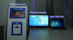 Touch Screen Kiosk - Queue Management System