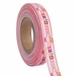 It''Girl Image 25mm/1'' Inch Grosgrain Ribbon