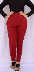Plain jegging Women Trousers