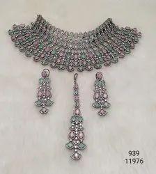 AD Stone Designer Necklace Set