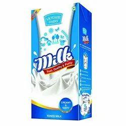 Mother Dairy Tetra Milk 1ltr, Packet