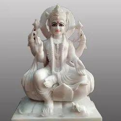White Marble Laxmi Devi Statue