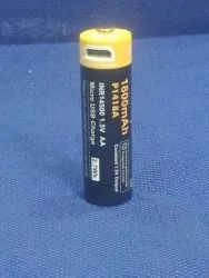 AA 14500 Rechargeable Battery