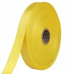 Double Satin NR - Butter Yellow Ribbons25mm/1''inch 20mtr Length
