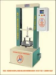Tile Adhesion Testing Machine