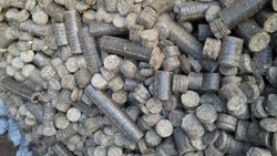 Cylindrical Solid Bio coal Briquette, For Used as a fuel in Steam Boiler