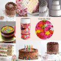 CAKE DECORATING SPRINKLE CANDY STAR