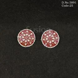 Meenakari Stud Earrings
