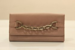 Plain Ladies Leather Wallet, Compartments: 2