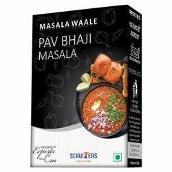 Masala Waale Pav Bhaji Masala, Packaging Size: 50 g, Packaging Type: Packets