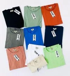 COLOR IN MENS FULLSLEEVE LYCRA PLAIN TSHIRTS