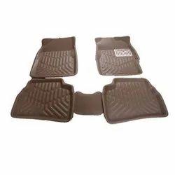Brown Rubber Car Mat