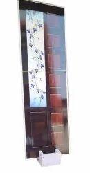 Brown Hinged PVC Door, Interior, Size/Dimension: 7 X 3.5 Feet