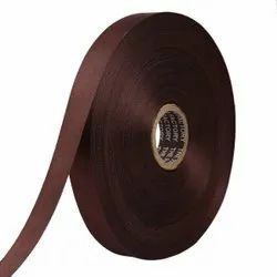 Double Satin NR - Coffee Brown Ribbons25mm/1Inch 20mtr Length