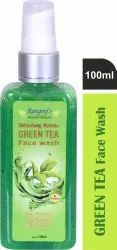 Rangrej's Aromatherapy Green Tea Face Wash 100ml