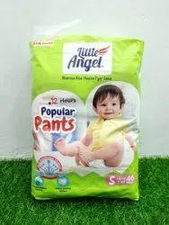 Nonwoven Little Angel Baby Diapers
