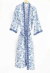 Designer Cotton Kimono Dress