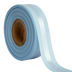 Gross Grain Satin - Ocean Blue Ribbons 25mm/1''inch 20mtr Length