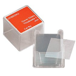 18 x 18 MM Borosilicate Cover Glass