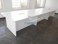 MT 14 Meeting Wooden Table