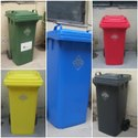 Stainless Steel Dustbin With Lid