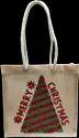 12 inch Christmas Gift Embroidery Bag