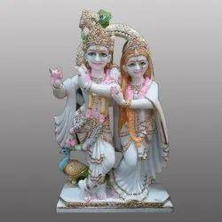 Designing Lord Yugal Radha Krishna Statue