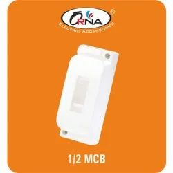 Orna Rectangular 1/2 Plastic MCB Box, For Electrical Fitting