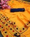 VICHITRA SILK WITH PUMPUM  LADIES WEAR SAREE