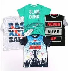 Boys Round Neck T-Shirt Easy Buy Original