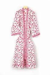 Ladies Designer Printed Kimono Robe