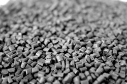 Gray Nylon Glass Filled Granules