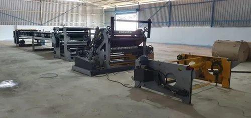 Fully Automatic paper corrugation machine