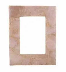 Stone Decorative Photo Frame, For Gift, Size: 6x4 Inch