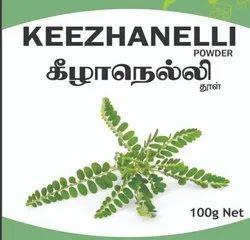 100 GRAM Organic KEEZHANELLI POWDER, Packaging Type: Packet