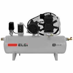 Single Industrial Piston Compressor 1 HP 100L