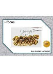G Vision 15 M Bnc Cctv Cable ( White & Golden)