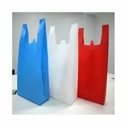 Handle Type: W Cut Plain Non Woven Fabric Carry Bag