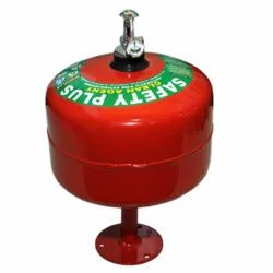 Safety plus Mild Steel 5Kg Automatic Modular Clean Agent Type Fire Extinguisher