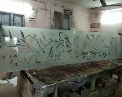 MULTI COLOUR Stained Glass, For Door,Window, Thickness: 12 Mm