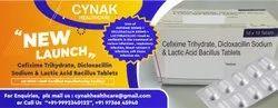 Cefixime Trihydrate, Dicloxacillin Sodium & Lactic Acid Bacillus Tablets