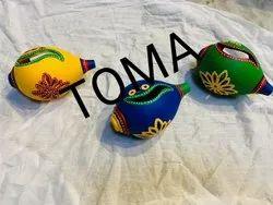T Light Handpainted Terecotta Traditional Diyas