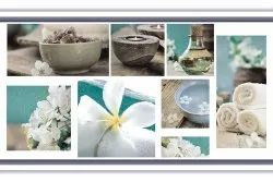 Ceramic Rofl Decor Living Room Digital Wall Tile, Thickness: 10 mm, Size: 300 X 450 Mm