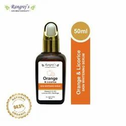 Rangrej's Aromatherapy Orange & Licorice Skin Whitening Face Serum 50ml