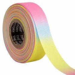 Gross Grain Ombre- Ribbons 25mm/1''inch Gross Grain Ribbon 20mtr Length
