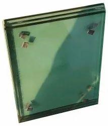 Transparent Window Plain Glass, Size: 10-50mm diameter, Shape: Polished