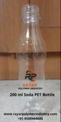 200ml Soda Pet Bottle