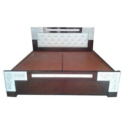 Brown Double Hydraulic Bed