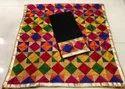 Cotton Unstitched Phulkari Bagh Suit, Handwash